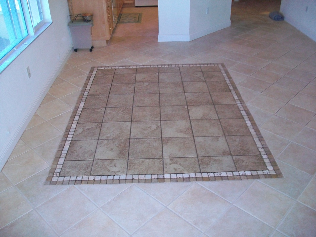 Floor border tiles design images for Floor tiles border design